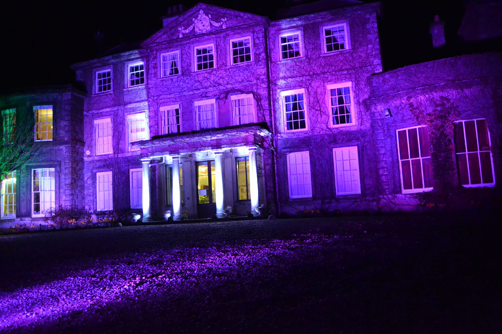 Wedding Venue External Lighting Hire